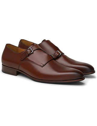 DOUBLE MONK LEATHER SHOE