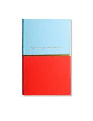 APW Notebook - Incredible Adventure - Red & Blue