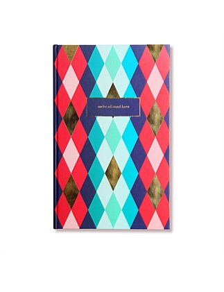 APW Notebook - We're All Mad Here - Harlequin