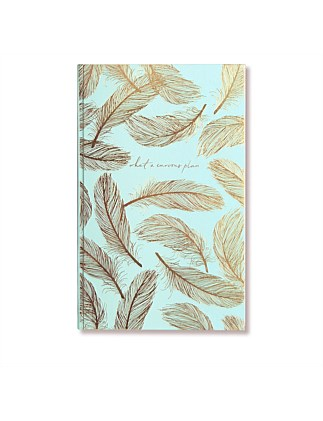APW Notebook - Curious Plan - Feather