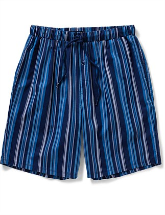 Woven Stripe Sleep Short