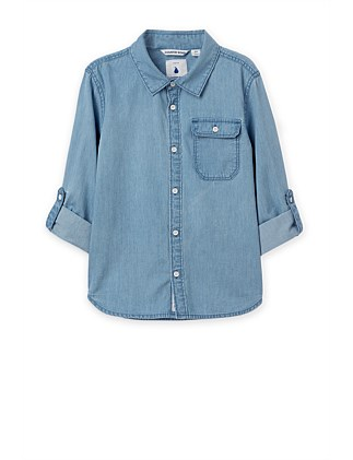 Chambray Shirt (Boys 2-12)
