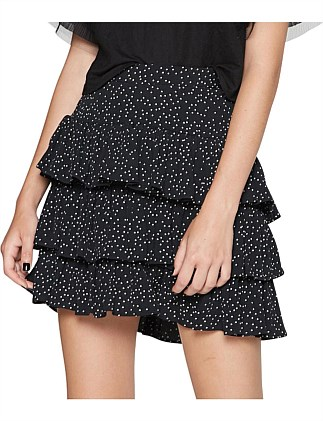 RUFFLE ME UP SKIRT