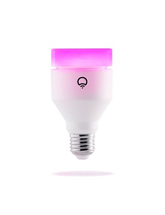 A60 MULTICOLOUR+WHITE 1100LM E27 WI-FI SMART LED LIGHT BULB