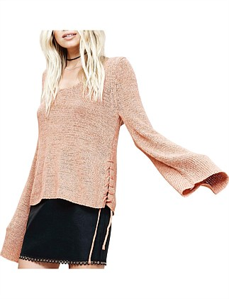 Beau Lace Side Sweater