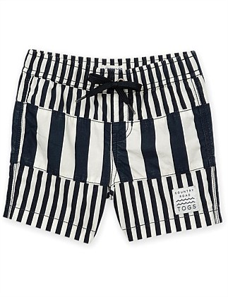 Double Stripe Board Short