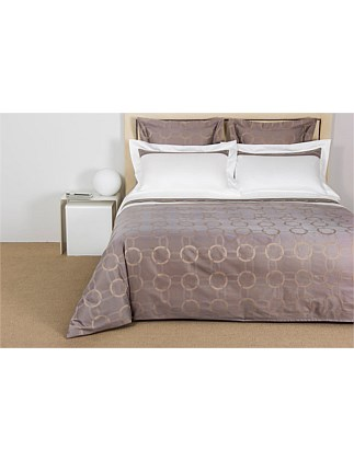 Chains Arredo Queen Bed Duvet Cover Two Piece Set