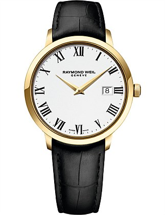 Raymond Weil Quartz Leather Watch