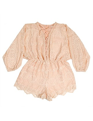 Calamity Lace Romper (Girls 8-16 Years)