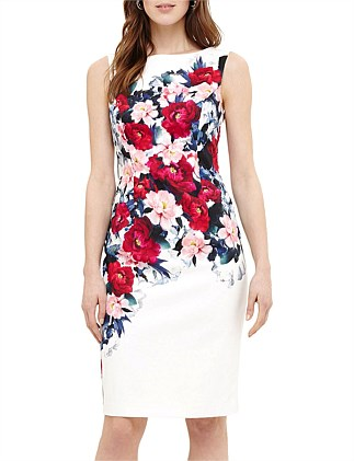 CASSIA FLORAL PRINTED DRESS