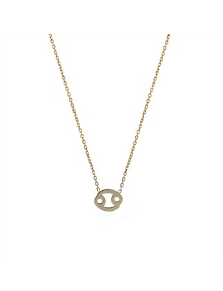 Zodiac Necklace Cancer