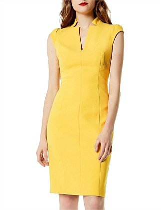 TAILORED PENCIL DRESS