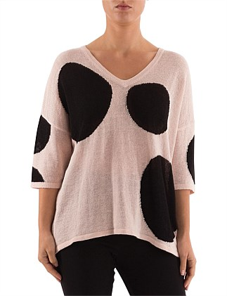 LARGE SPOT PULLOVER
