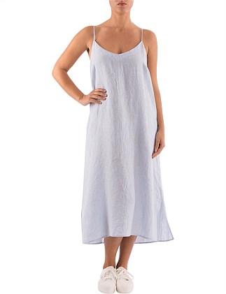b566a2826dc Strappy Linen Beach Dress Special Offer