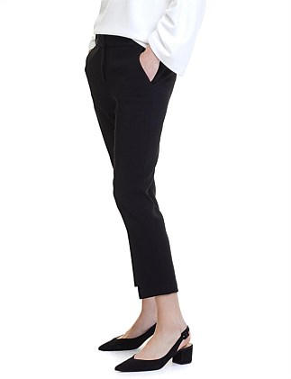 Wide Waistband Cigarette Pant