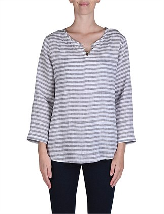 Stripe Grandpa Top