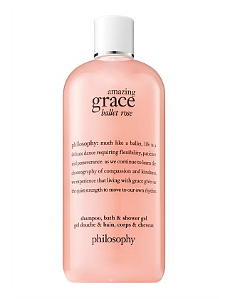 amazing grace ballet rose shower gel 480ML