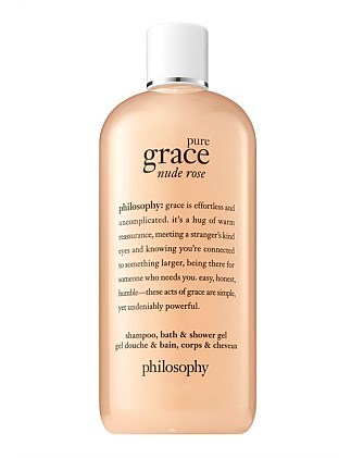 pure grace nude rose shower gel