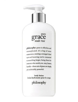 pure grace nude rose body lotion