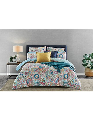 ANNELI SINGLE BED QUILT COVER