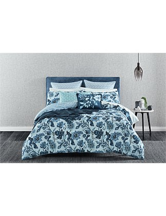 EVERSON SINGLE BED QUILT COVER