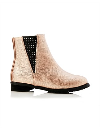 GENIE GUSSET ANKLE BOOT