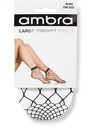 Large Fishnet Anklet