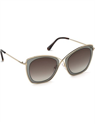 Metal Gradient Sunglasses