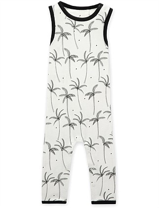 Unisex Palm Tree Jumpsuit