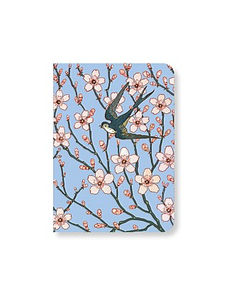 MUSEUMS AND GALLERIES - ALMOND BLOSSOM MINI NOTEBOOK