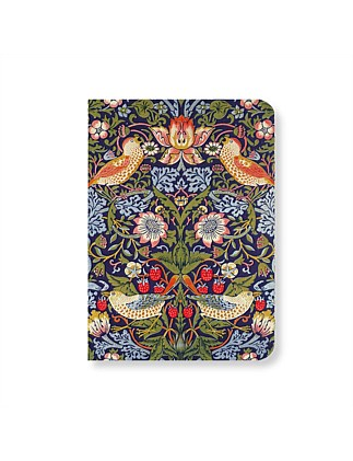 MUSEUMS AND GALLERIES - STRAWBERRY THIEF MINI NOTEBOOK