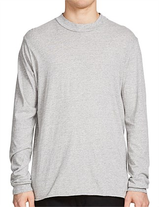 Wide Rib Neck L/S T.Shirt