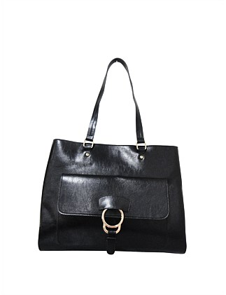 ZEALOT TOTE FRONT FLAP WITH RING HARDWARE