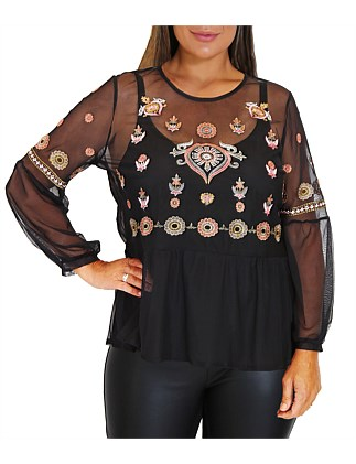 82b665c1d43 Garden Path Top With Cami ...