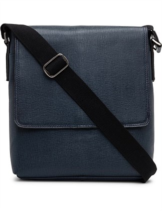 SAFFIANO LEATHER CROSSBODY MESSENGER