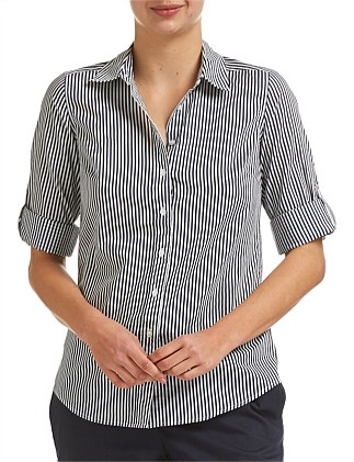 LILY VOILE STRIPE SHIRT