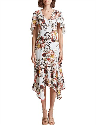 BLOOMFEILD FLORAL DRESS