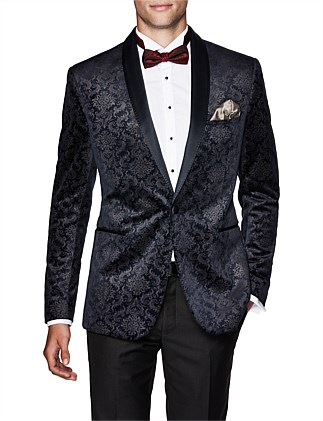 Quinnton Slim Tailored Velvet Jacket