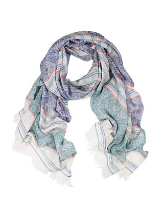 Kingston Jacquard Weave Cotton Scarf