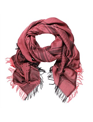 Milano Cotton/Wool/Silk Square Scarf