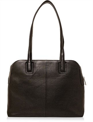 Delphine Leather Career Bag