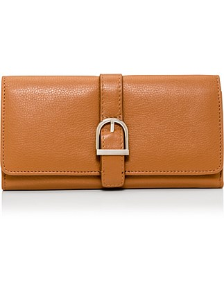 Rikki Leather Buckle Wallet