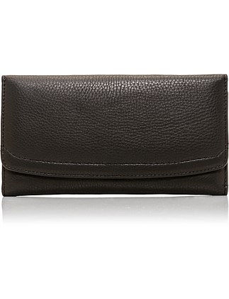 Dani Leather Trifold Wallet