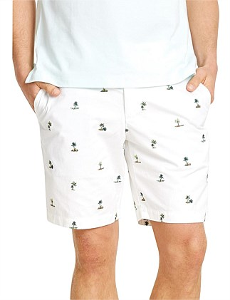 ANDY EMBROIDERED SHORT