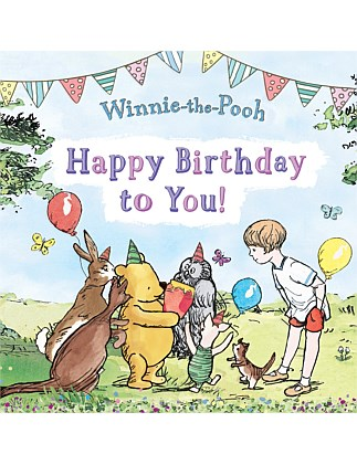 Winnie-the-Pooh Happy Birthday to You
