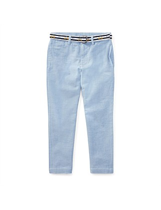 Belted Stretch Skinny Pant(2-7 Years )