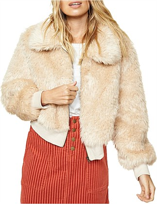 SHERRY FUR BOMBER