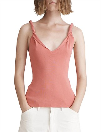 Twist Shoulder Tank
