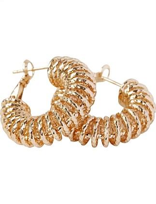 Women S Earrings Pearl Hoop Gold Earrings Online David Jones