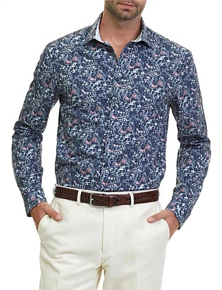Long Sleeve Slim Tropical Shirt ... 9dcf70b2e
